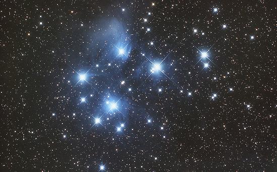 ''Pleiades Star Cluster'' by Phil Hart, Australia.