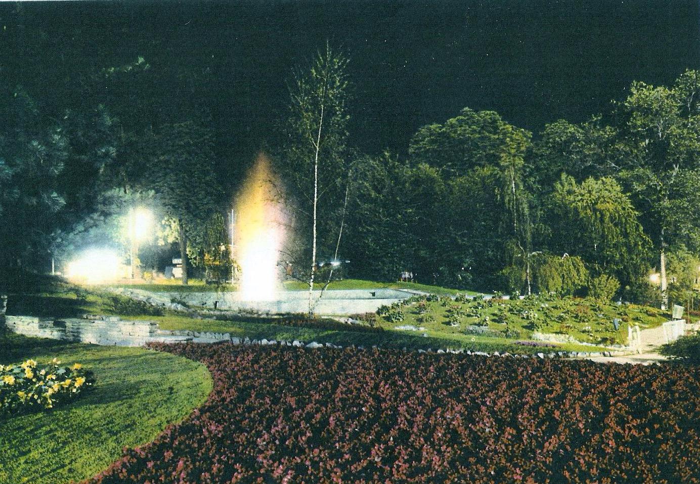 Giardio Roccioso notte