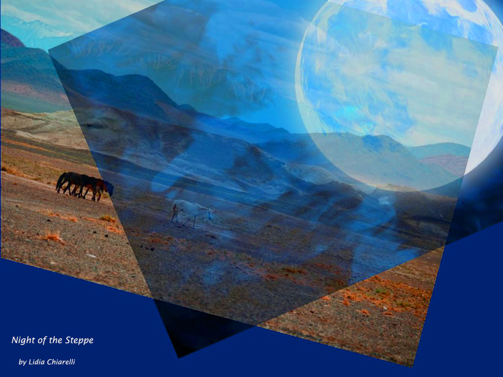 "Translations Into Italian: ""Night Of The Steppe"" By Hadaa Sendoo, Mongolia"